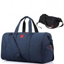 Combo túi xách du lịch thời trang Glado TBG001 (màu xanh) và túi đeo chéo GEX005 (màu đen)