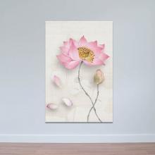 Tranh hoa sen trang nhã W3968