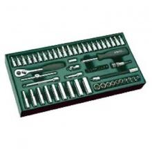 Bộ khay đầu tuýp 59 chi tiết 1/4 inch (hệ inch)- SATA 09919