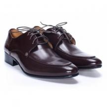 Giày da Pierre Cardin Brown Derby Cement - PCMFWLB078BRW màu nâu