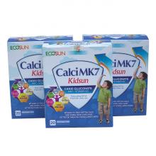 Combo 3 hộp Calci MK7 Kid Sun giúp xương chắc khỏe và tăng chiều cao của trẻ