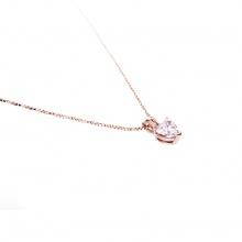 Mặt dây chuyền vàng hồng đính đá DOJI 14K 0819P-LAL444
