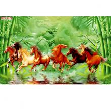 Tranh dán tường ngựa phi nước đại 3 PT42 (kích thước: 100x150cm)