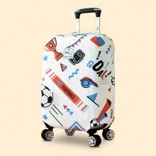 Túi bọc vali vải thun 4 chiều TRIP Sport (bóng đá) size M