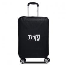 Áo trùm vali vải Trip không dệt size L đen