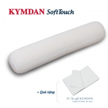 Gối ôm Kymdan SoftTouch cỡ nhỏ (chiều dài 75 cm) - Tặng 1 áo gối