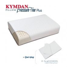 Gối cao su thiên nhiên Kymdan Pillow PressureFree Plus 60 x 38 x 10.11 cm - tặng 1 áo gối