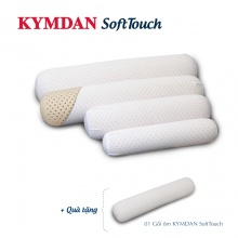Combo 4 gối ôm Kymdan SoftTouch cỡ trung (chiều dài 105cm) - tặng 1 gối cùng loại