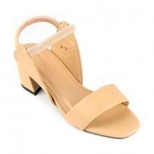Sandal đế vuông êm chân Sunday DV56 kem