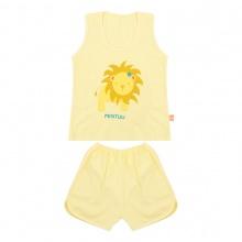 Bộ quần áo ba lỗ cho trẻ in màu Mintuu 5221 (0-24 tháng)