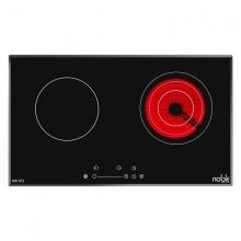 Bếp đôi điện từ và hồng ngoại cao cấp Noble NB-512