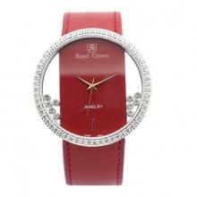 Đồng hồ nữ chính hãng Royal Crown 6110 đỏ