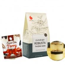 Cafe bột thượng hạng Light Coffee 500g tặng Cacao sữa Terry 50g