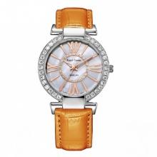 Đồng hồ nữ chính hãng Royal Crown 6116 dây da cam