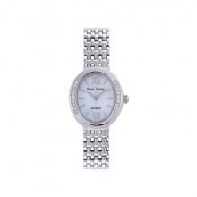 Đồng hồ nữ chính hãng Royal Crown 6309 dây thép vỏ trắng