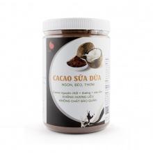 Cacao sữa dừa hũ 550g từ Light Coffee