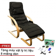Nệm massage toàn thân bella tặng máy massage vật lý trị liệu 8 miếng dán