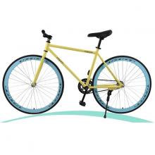 Xe đạp thể thao Fixed Gear (màu vàng)