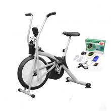 Xe đạp thể dục Airbike MK98 - Tặng máy massage vật lý trị liệu 8 miếng dán