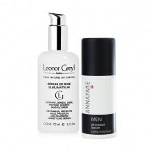Combo Gel dưỡng ẩm cao cấp danh cho nam Annayake và Serum dưỡng suôn mượt tóc 48h, chống tia UV Leonor Greyl