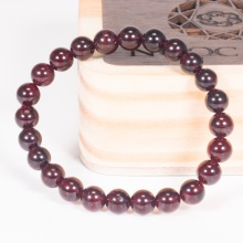 Vòng tay phong thủy nữ đá garnet 6mm mệnh hỏa , thổ - Ngọc Quý Gemstones