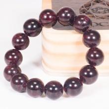 Vòng tay phong thủy nữ đá garnet 14mm mệnh hỏa , thổ - Ngọc Quý Gemstones