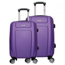Bộ 2 vali cao cấp Trip P610 Size 50+60cm tím (tặng 1 áo trùm vali vải dù xanh lá)