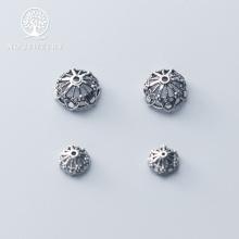 Charm chụp hạt, bọc hạt họa tiết hoa văn 12mm