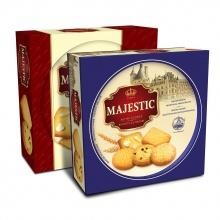 Bánh hộp thiếc Majestic 382g (giao màu ngẫu nhiên)