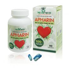 Apharin - thực phẩm bảo vệ sức khỏe hạ và ổn định huyết áp