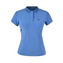 Áo Tennis nữ Dunlop - dates9098-2c-sbu (Xanh Biển)