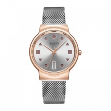 Đồng hồ nữ JA-1187 Julius Hàn Quốc dây thép cá tính
