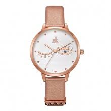 Đồng hồ nữ chính hãng Shengke Korea K9011L-03 vàng đồng