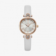(SIÊU SALE)  Đồng hồ nữ chính hãng Shengke UK K9009L-03 trắng