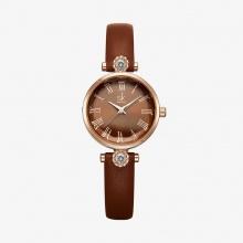 Đồng hồ nữ chính hãng Shengke Korea K9009L-04 nâu
