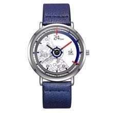Đồng hồ nam chính hãng Shengke Korea K9004G-04 xanh