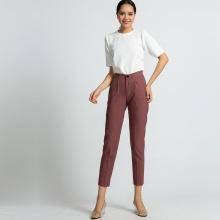 Quần baggy nữ quần tây công sở thời trang thiết kế Hity PAN040 (hồng rose dusting)