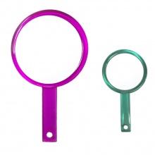 Gương soi 2 mặt cầm tay hình tròn