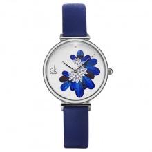 Đồng hồ nữ chính hãng Shengke Korea K0123L-02 Xanh