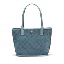 Túi da thật A51 - xanh da trời - B09A51