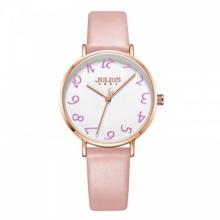 Đồng hồ nữ Julius Hàn Quốc JA-1170A dây da