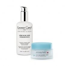 Combo kem dưỡng ẩm Annayake và  serum suôn mượt tóc , chống nắng cho tóc leonor greyl