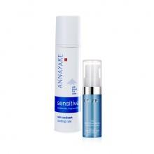 Kem dưỡng cung cấp độ ẩm cho da nhạy cảm Annayake và Kem dưỡng Mini Orlane cung cấp năng lượng cho vùng mắt