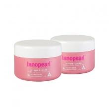 Combo 2 hộp kem tái tạo vitamin E Và EPO làm mịn da Lanopearl (LA07)