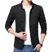 Áo khoác kaki nam kiểu vest 2 lớp cao cấp Bonado BN16 - đen