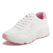Giày nữ thể thao VAHS cao cấp - giày nữ tăng chiều cao da PU phom dáng thể thao