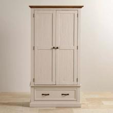 Tủ quần áo Sark 2 cánh 1 ngăn kéo gỗ sồi 1m