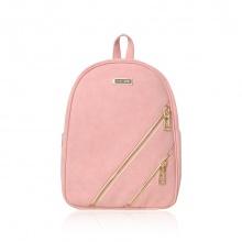Balo thời trang Verchini màu hồng da lộn 13001796