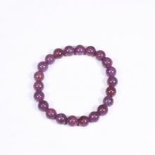 Vòng tay đá ruby 7.5mm mệnh hỏa, thổ - Ngọc Quý Gemstones