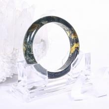 Vòng tay đá băng ngọc thủy tảo huyết mệnh hỏa,mộc - Ngọc Quý Gemstones